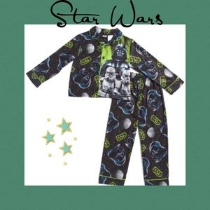 (I) STAR WARS▪️Boys Darth Vader Sleep Set 10/12